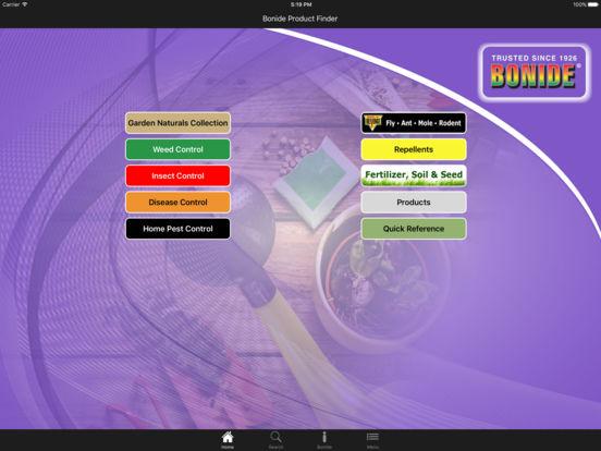 Bonide iPad Screenshot 1