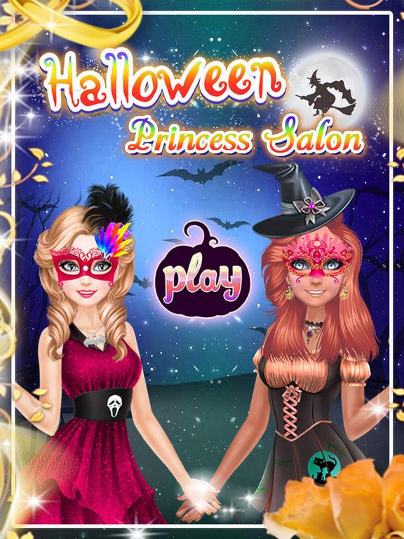 Halloween Princess Salons screenshot 5