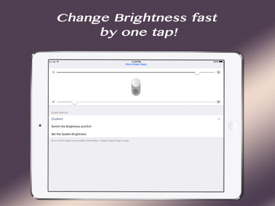 Quick Brightness - Control the Power Screenshots
