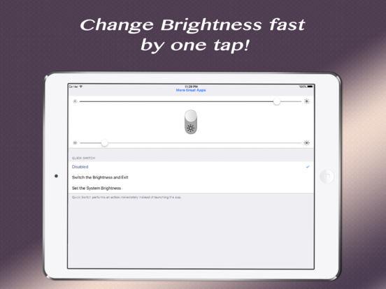 Quick Brightness - Control the Power Screenshots
