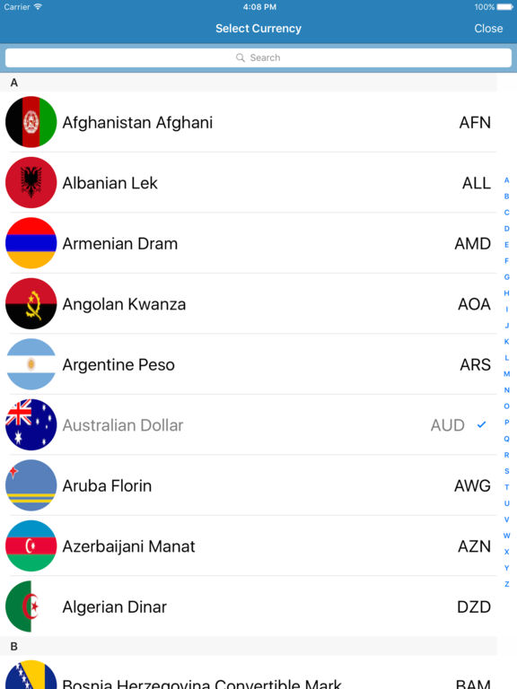 Currency Converter PRO (Global Currency Rate) Screenshots