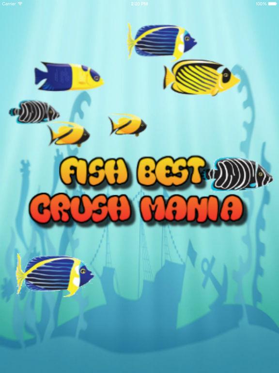 App shopper fish best crush mania games for Fish mania game
