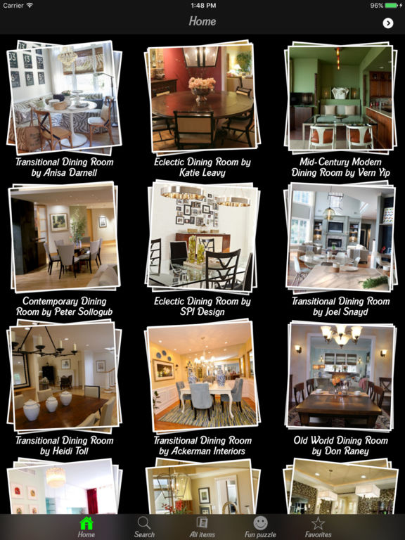 dining room design ideas app store