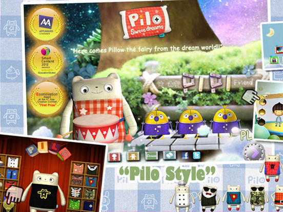 Pilo2:An Interactive Children's Story Book-3D Screenshots