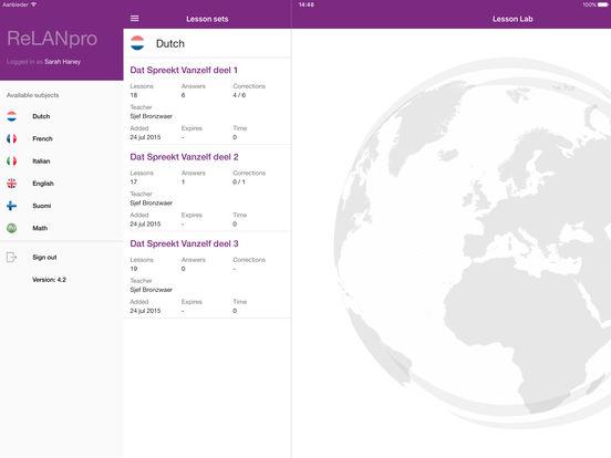 ReLANpro iPad Screenshot 1