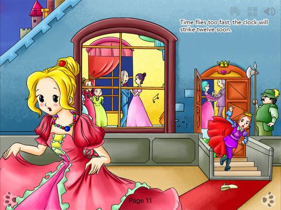 iBigToy Interactive Book-Cinderella HD iPad Screenshot 3