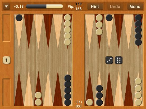 Backgammon NJ HD iPad Screenshot 1