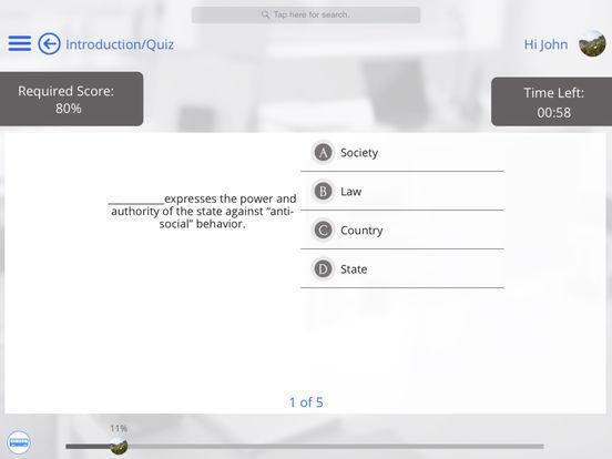 US Law for iPhone iPad Screenshot 5