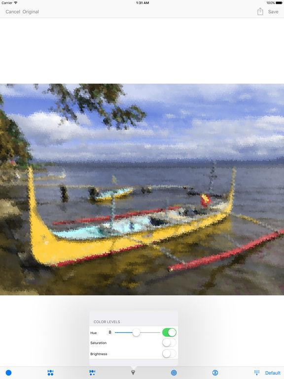 Pointillisted - Photo Artwork Generator Screenshots