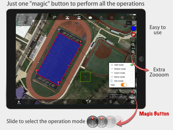 Measure Map iPad Screenshot 2