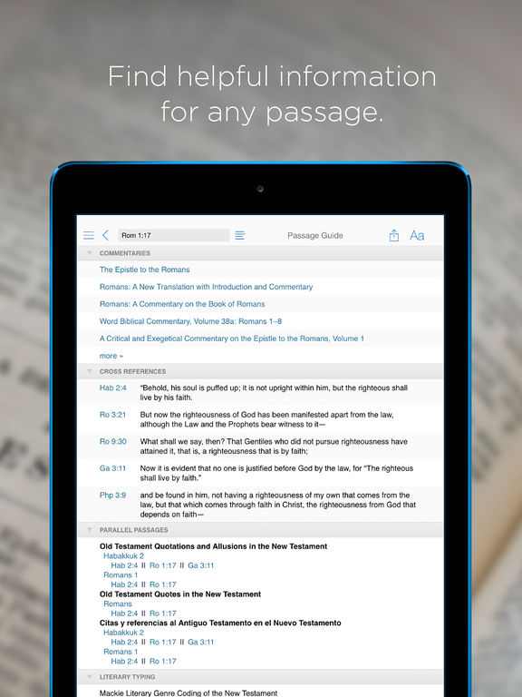 Bible! by Logos screenshot