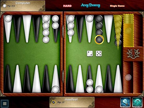 Backgammon HD iPad Screenshot 1