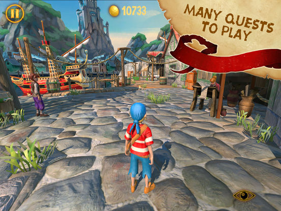 Captain Sabertooth and the Treasure of Lama Rama Screenshots