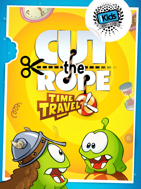 Screenshot #1 for Cut the Rope: Time Travel HD