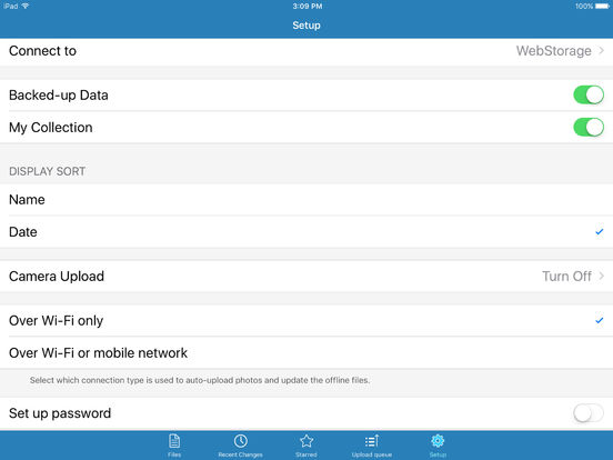 ASUS WebStorage iPad Screenshot 5