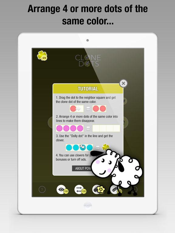 Clone Dots - Color Lines Mania для iPad