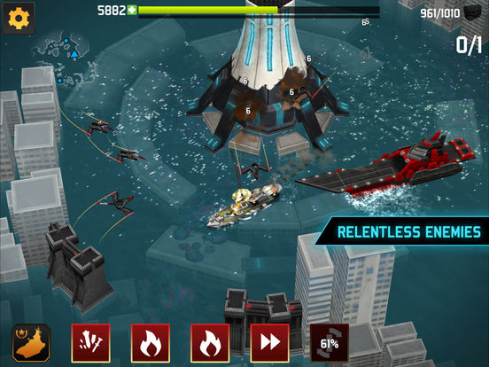 #4. Fortress: Destroyer (iOS)