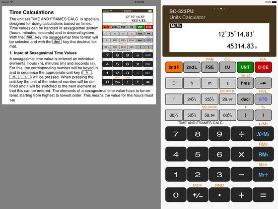 Scientific Calculator SC-323PU iPad Screenshot 3