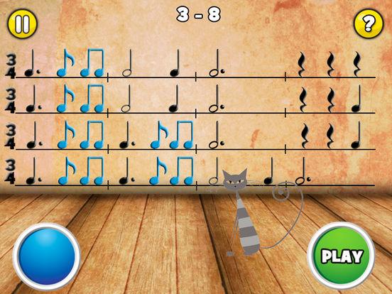 Скачать игру Rhythm Cat Pro HD - Узнайте о том, как читать ноты