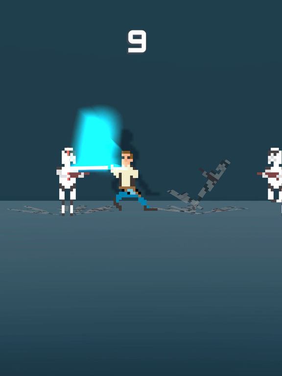 Galactic Pixel Wars - The Farce Awakens Screenshot