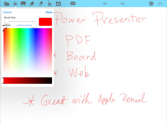 Power Presenter iPad Screenshot 4