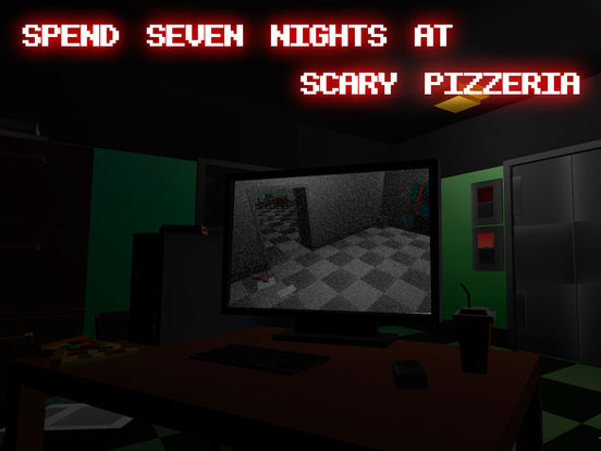 Nights at Scary Pizzeria 3D Full Screenshots