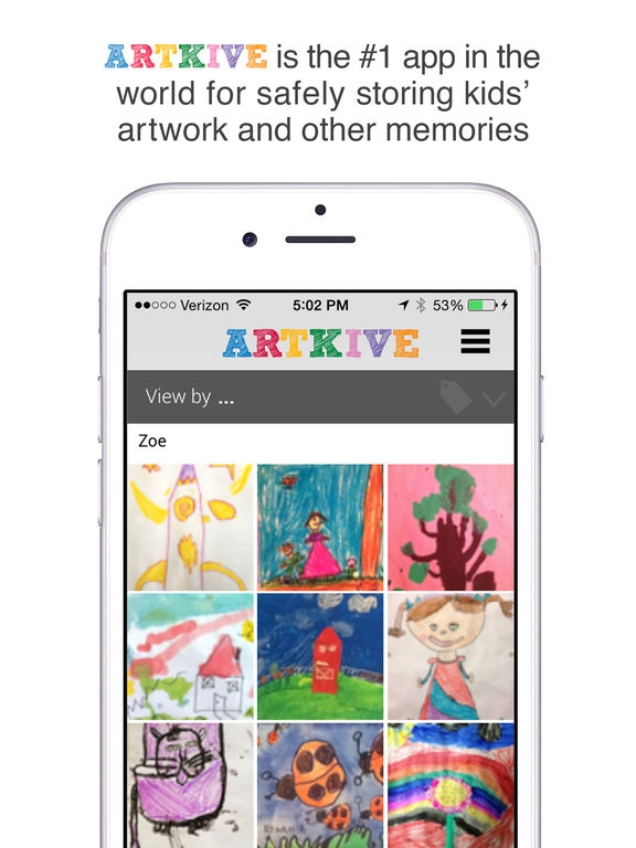 Save Kids' Art: Artkive For iOS Is Temporarily Free
