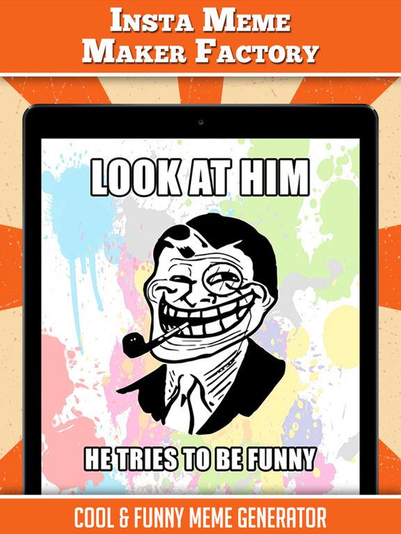 Funny Memes For Insta : Insta meme maker factory funny generator on the app
