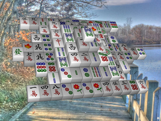 Moonlight Mahjong Lite iPad Screenshot 5