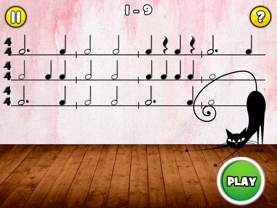 Rhythm Cat Pro HD - Узнайте о том, как читать ноты для iPad