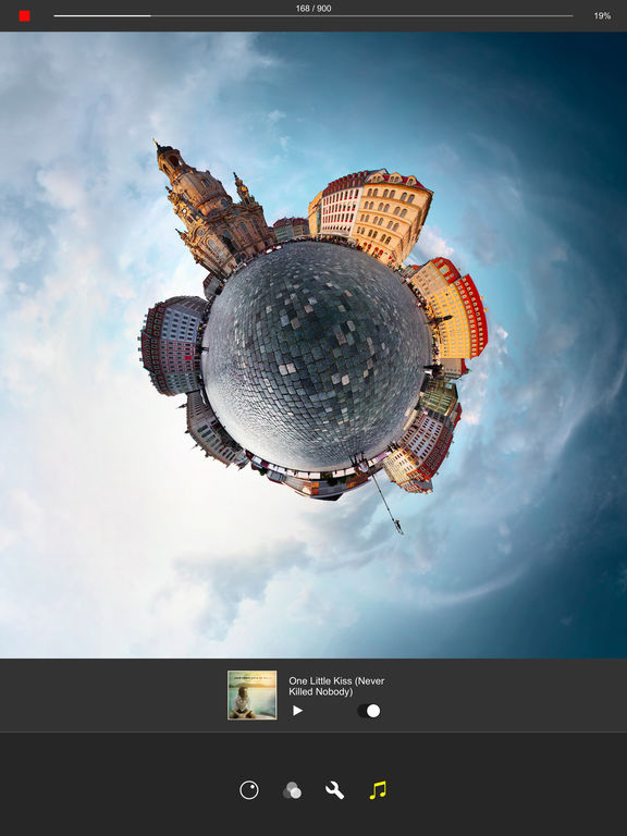 Living Planet - Tiny Planet Videos and Photos Screenshots