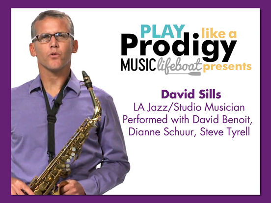 Music Lifeboat Presents Play Like A Prodigy: Learn Alto Sax screenshot