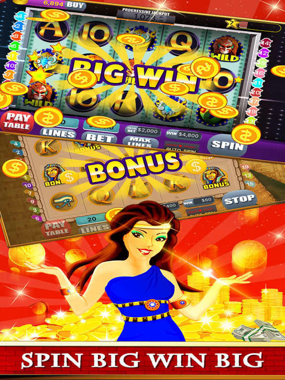 Free Las Vegas Casino Slots Machine Games - Spin for New Party-ipad-1