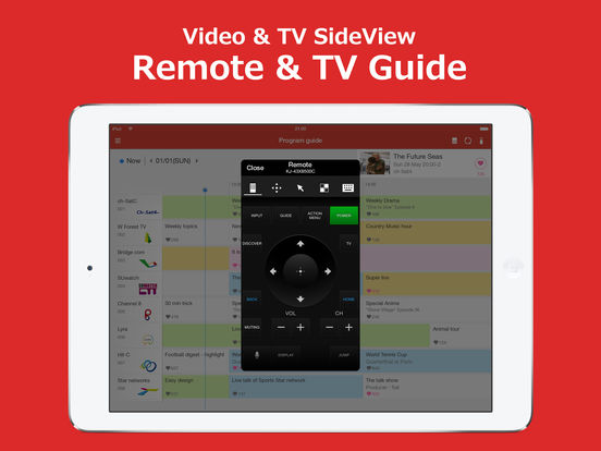 Sony TV SideView APP - YouTube