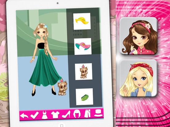 Игры для девочек переодевалки модное