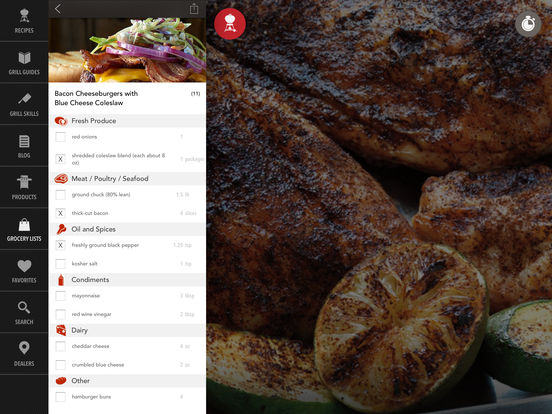 Weber® Grills iPad Screenshot 4