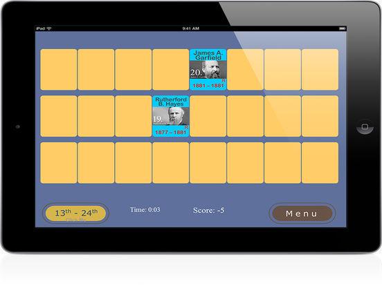 PairPlay USA Presidents iPad Screenshot 5