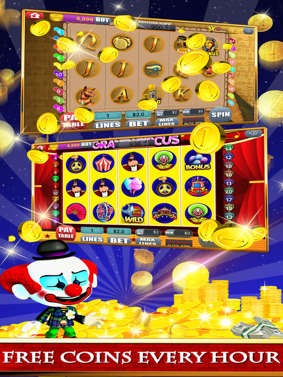 Free Las Vegas Casino Slots Machine Games - Spin for New Party-ipad-3