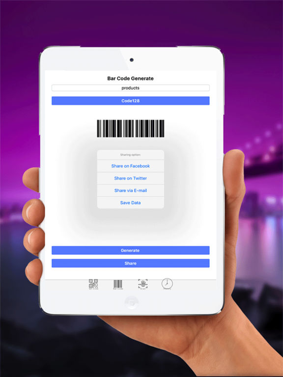 QR&Barcode Scanner:Generate and Read all type code Screenshots