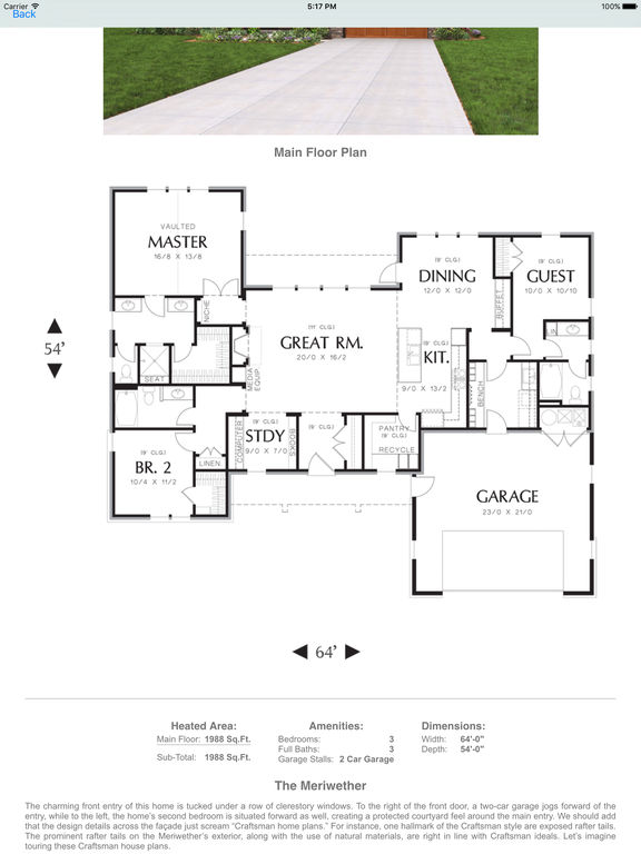 App shopper mascord house plans newsstand Best house plan app