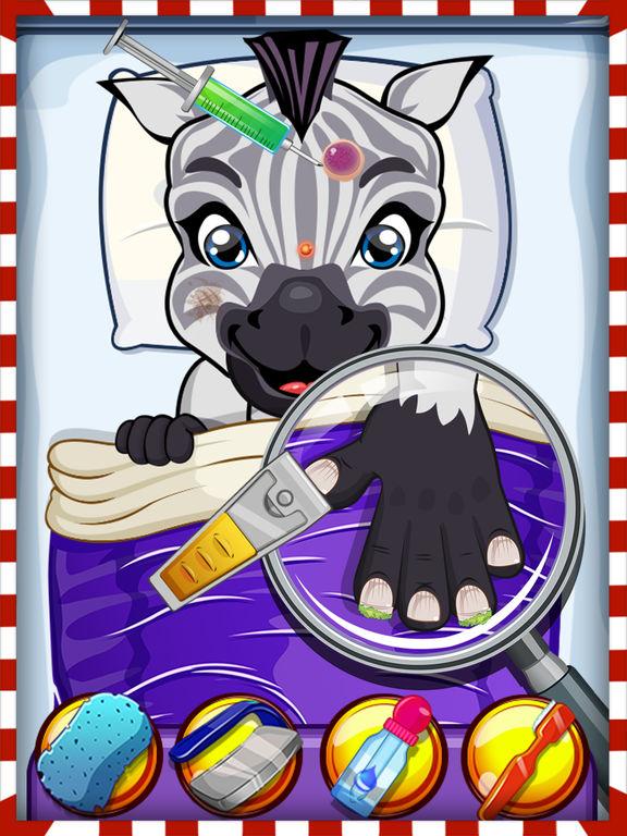 Crazy Pet Vet Hospital Doctor - Fun dentist hair, nose & eye care salon games for girlsscreeshot 3