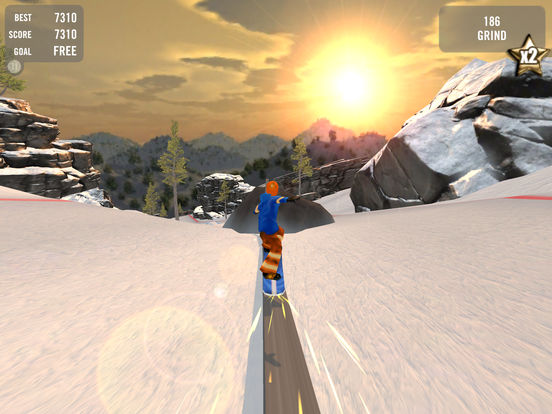 Crazy Snowboard Free на iPad