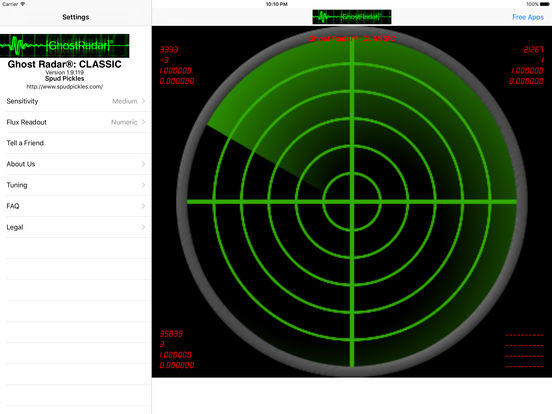 Ghost Radar: CLASSIC screenshot 3