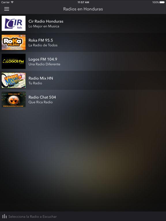 Captura de pantalla del iPad 1