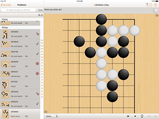 SmartGo Kifu iPad Screenshot 2