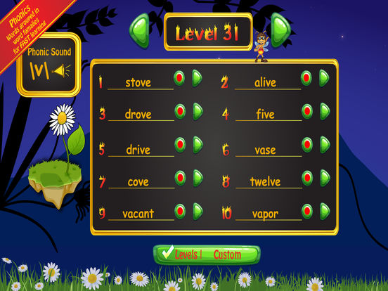 Spelling Bug 1st Grade Words Screenshots