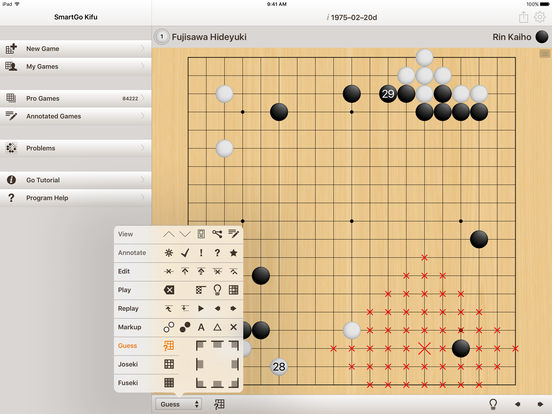 SmartGo Kifu iPad Screenshot 4