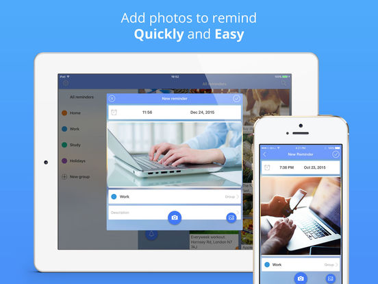 Reminders: photo to-do list & task notification Screenshots