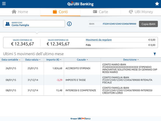 Qui UBI iPad Screenshot 2