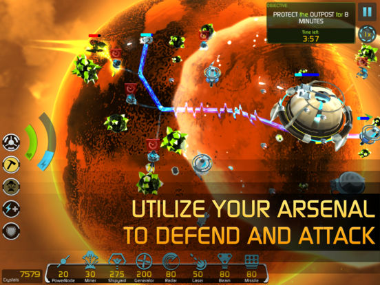 Solar Siege - Sci-fi strategy for iOS and Android by Origin8 Image